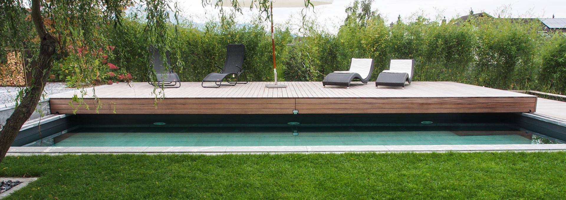 die perfekte poolabdeckung f r ihren bestehenden pool. Black Bedroom Furniture Sets. Home Design Ideas