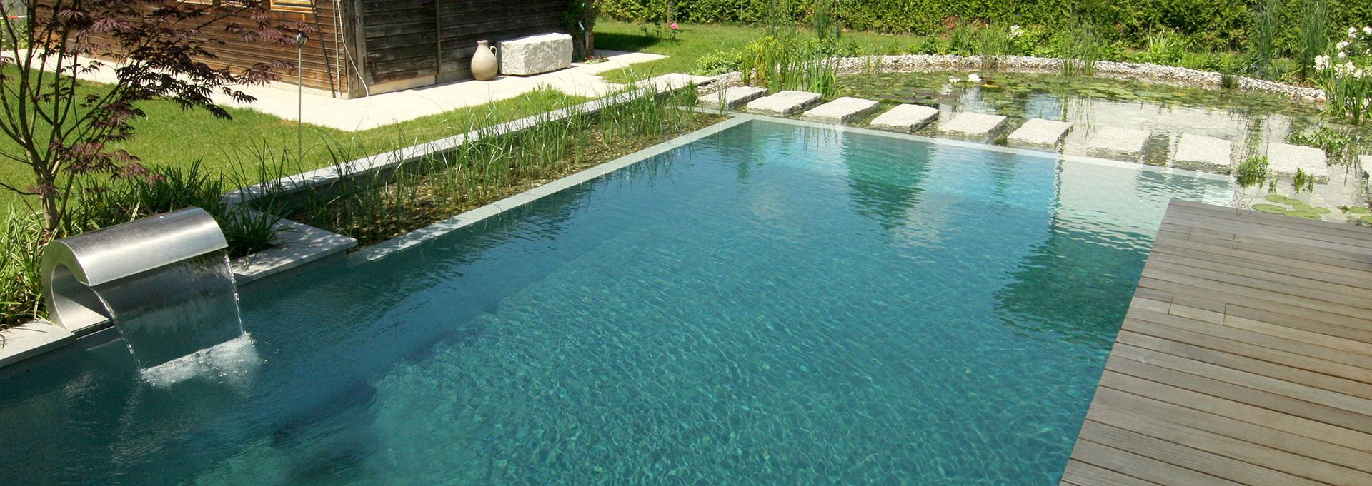 schwimmteich und biopool