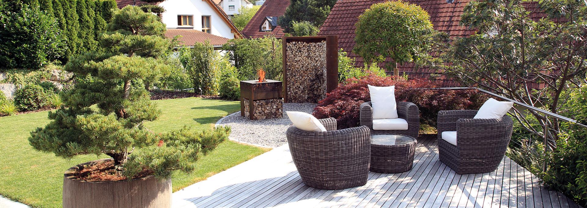 Terrassengestaltung Durch Die Experten Aus Dem Aargau