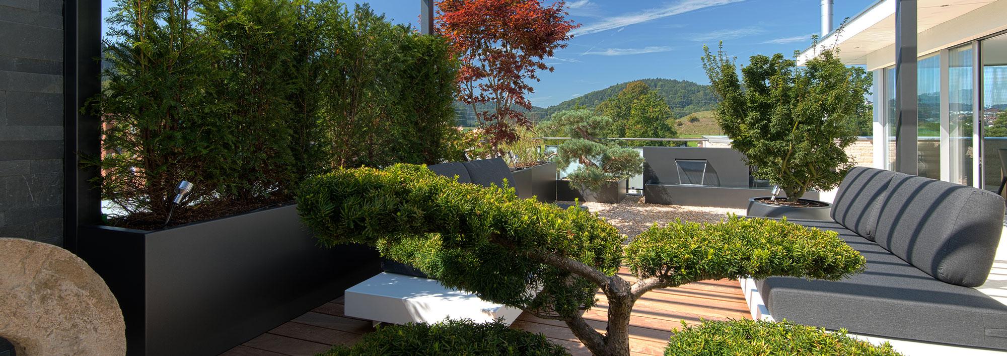 Terrassengarten Und Terrassengestaltung